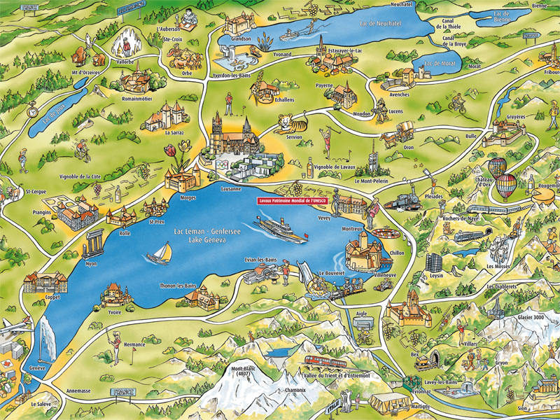 8 Fun Facts about Lake Geneva The Swiss Watch Blog