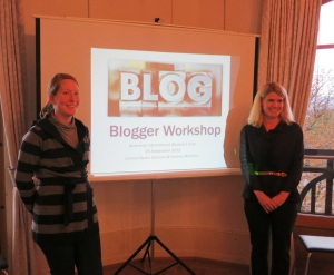 Teaching a blogger class