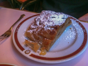 Apfelstrudel is another Viennese delicacy