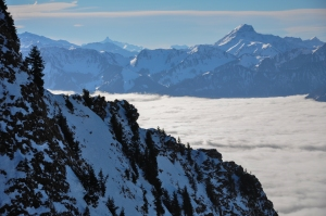 Gorgeous views @ Rochers-de-Naye