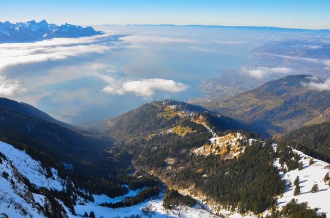 Lake Geneva starting to show